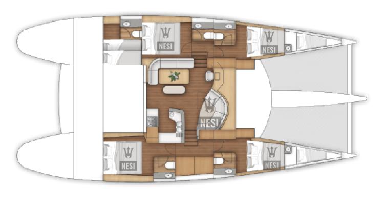 NESI Layout Cabins